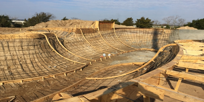 Charleston skatepark currently under construction will open in Fall 2016