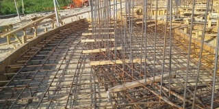 Reinforcing Bending On-Site